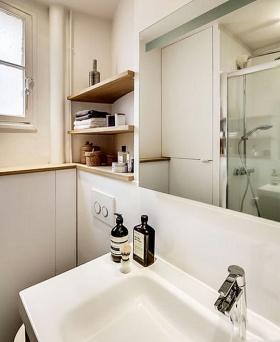 宜家风格简洁卫生间装修美图