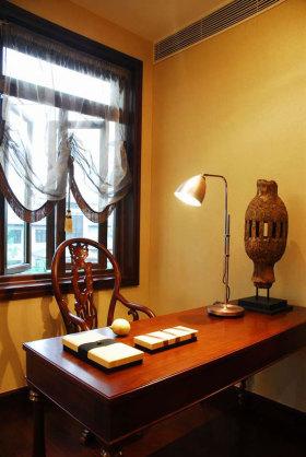 东南亚风格休闲书房效果图