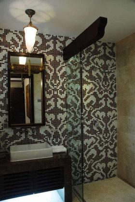 东南亚风格简洁卫生间装饰案例