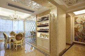 2016雅致欧式风格餐厅酒柜设计案例