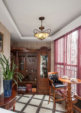 雅致时尚古典欧式风格阳台设计欣赏