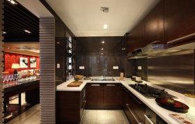 简洁中式风格厨房装饰案例