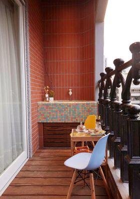 休闲美式风格阳台装饰案例