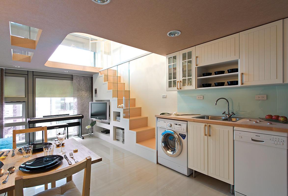 简约风格厨房装饰设计图
