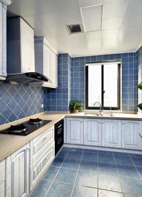 2016地中海风格蓝色厨房欣赏