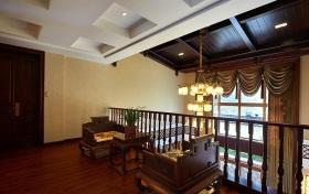 古典雅致中式风格阁楼装修案例