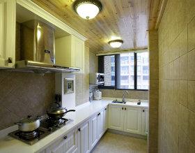 米色简欧风格厨房设计