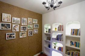 简欧米色照片墙设计效果图设计