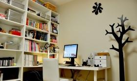 宜家风格书房设计装潢
