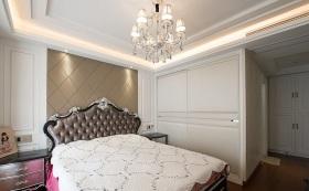 2016精致欧式白色卧室装潢设计