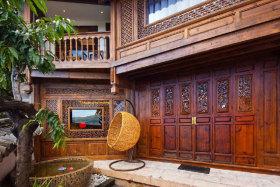 中式风格雅致花园装修效果图欣赏
