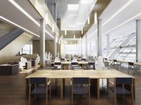 大气时尚现代风格图书馆设计美图欣赏