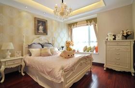 温馨米色简欧风格儿童房装修图