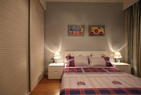 现代风格米色素雅儿童房装修图片