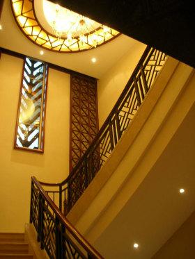 雅致中式风格楼梯装潢设计