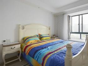 2016地中海风格蓝色卧室装潢
