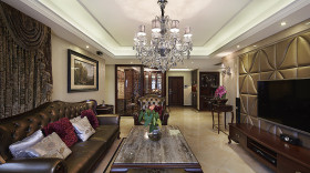 精美雅致时尚欧式客厅装潢