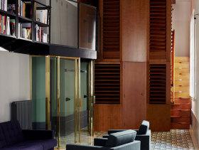美式大气别墅客厅装潢设计