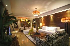东南亚风格大气华美创意大气客厅赏析