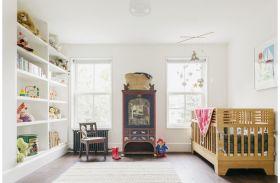 清爽白色简欧风格儿童房设计