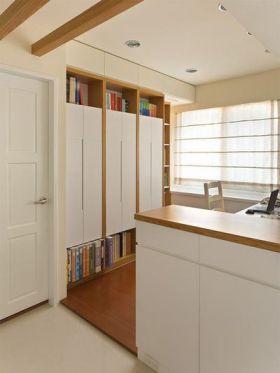简约风淡雅实用收纳柜设计装修图