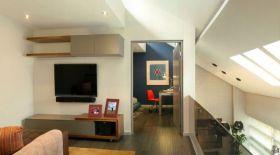 现代风格阁楼客厅装修效果图