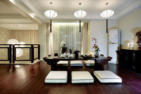 中式风格典雅榻榻米装饰设计图片