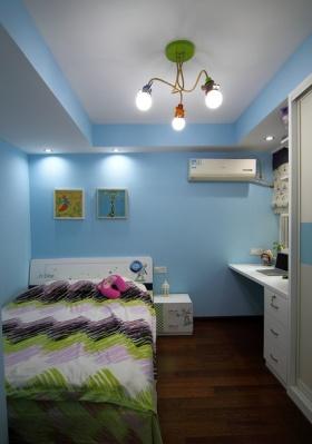 宜家风格清新蓝色儿童房装修赏析