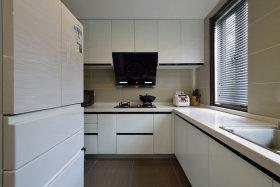 白色清爽雅致宜家厨房装修设计