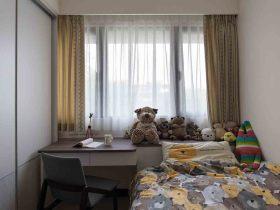 浪漫童趣田园儿童房窗帘装饰案例