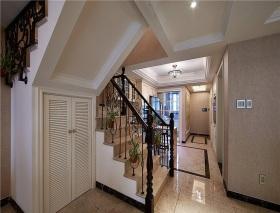 米色欧式楼梯设计图