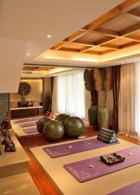 东南亚风格休闲瑜伽室装潢设计