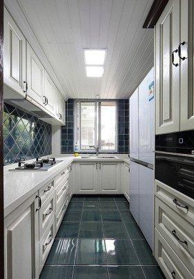 宜家风格清爽淡雅厨房装修图片