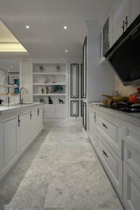 雅致灰色美式风格橱柜装饰案例