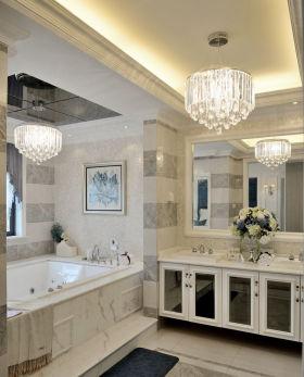 米色新古典风格卫生间设计案例
