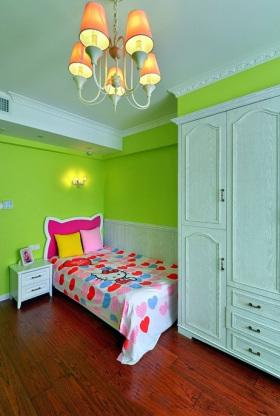 绿色田园儿童房设计图片