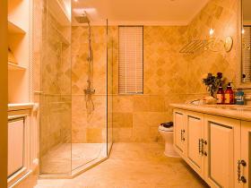 橙色欧式风格卫生间装潢设计