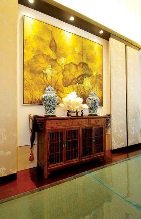 中式雅致古典玄关图片赏析