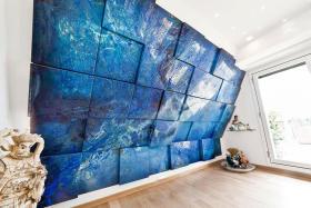 时尚东南亚风格背景墙效果图赏析
