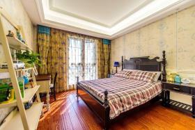 休闲美式卧室窗帘装修
