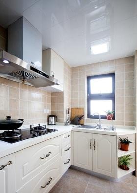 清爽宜家风格厨房设计装潢