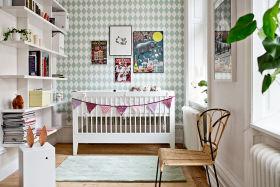 白色清新宜家风儿童房装修图