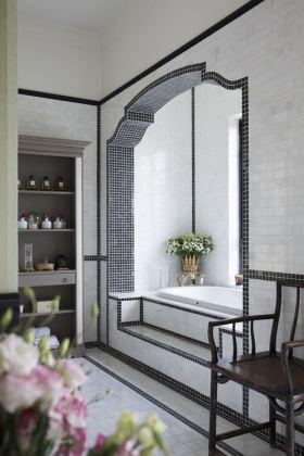 地中海风格清新白色卫生间装修赏析
