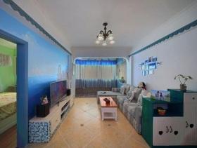 地中海风格客厅装修图片