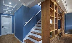 美式风格大气简约楼梯效果图设计