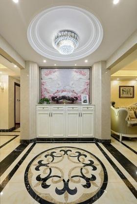 米色欧式风格入门玄关设计