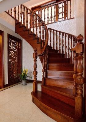 自然欧式风格楼梯图片赏析
