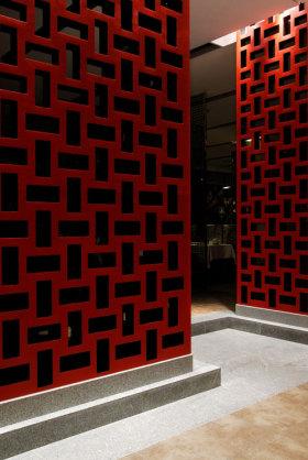 2016时尚中式背景墙装修布置