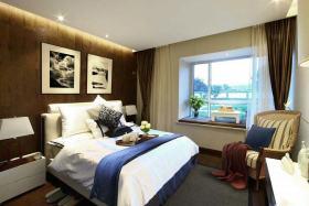 大气温馨美式风格卧室设计欣赏