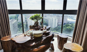 中式风格阳台效果图设计